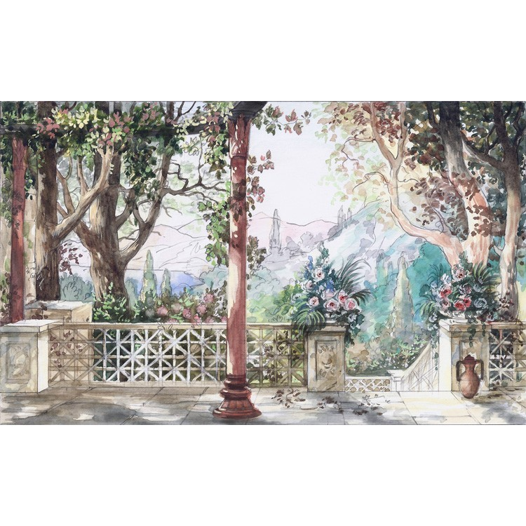 Βασιλικό Τοπίο, Φύση, Ταπετσαρίες Τοίχου