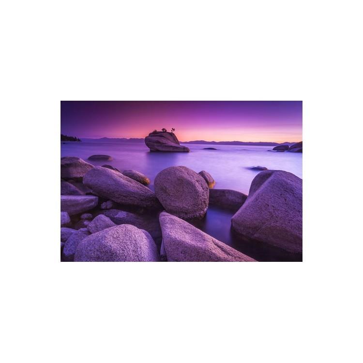 Μώβ ηλιοβασίλεμα, Φύση, Multipanel
