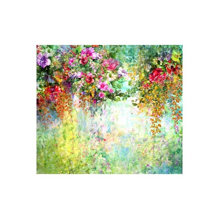 Πολύχρωμα λουλούδια, Φύση, Ρολοκουρτίνες