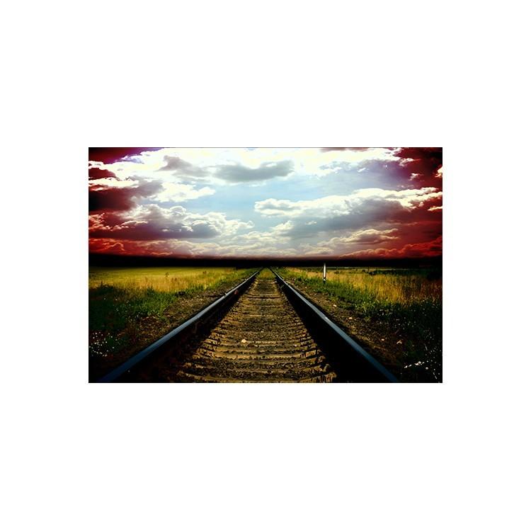 Παλιός σιδηρόδρομος, Vintage, Multipanel