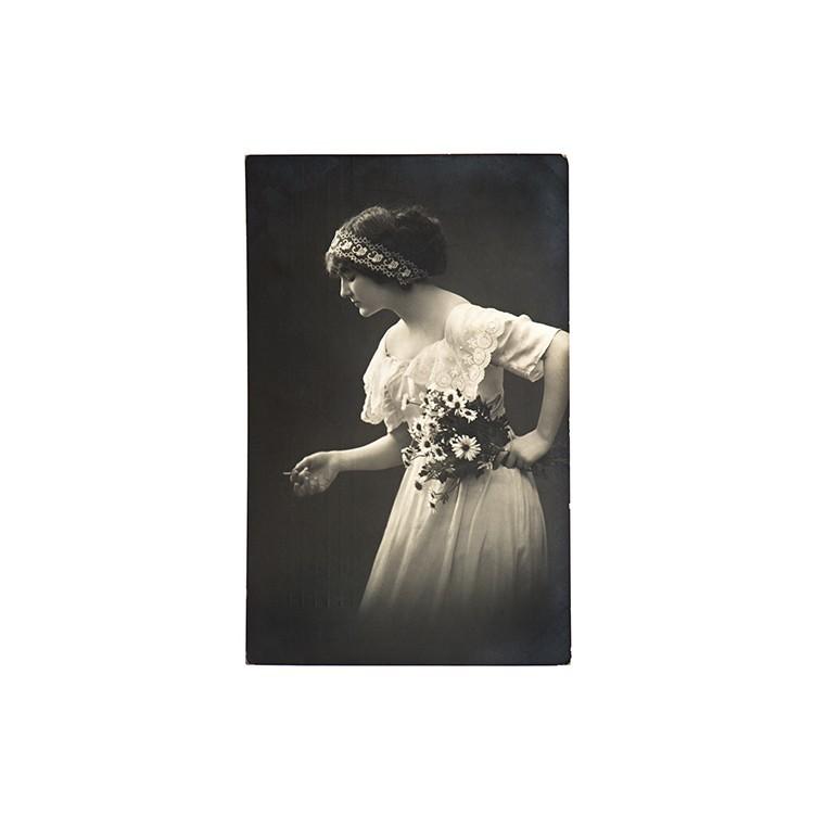 Νεαρή γυναίκα, Vintage, Ταπετσαρίες Τοίχου