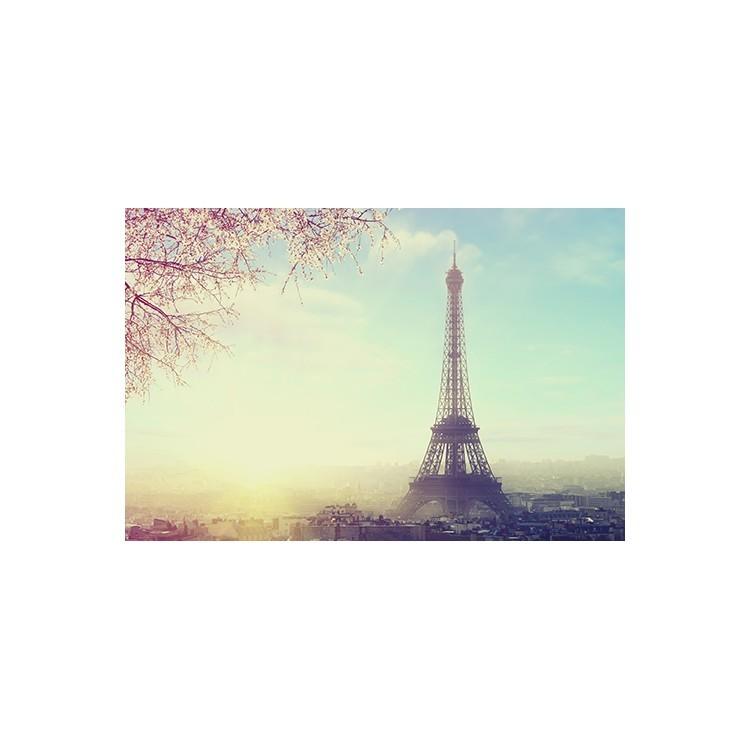 Θέα στο Παρίσι, Vintage, Multipanel