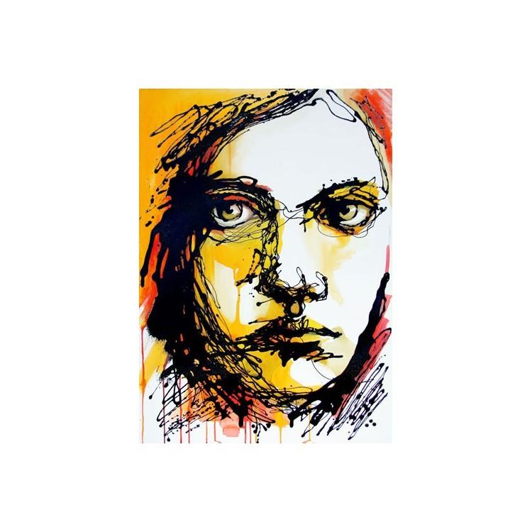 Πορτρέτο όμορφου κοριτσιού, Ζωγραφική, Ταπετσαρίες Τοίχου