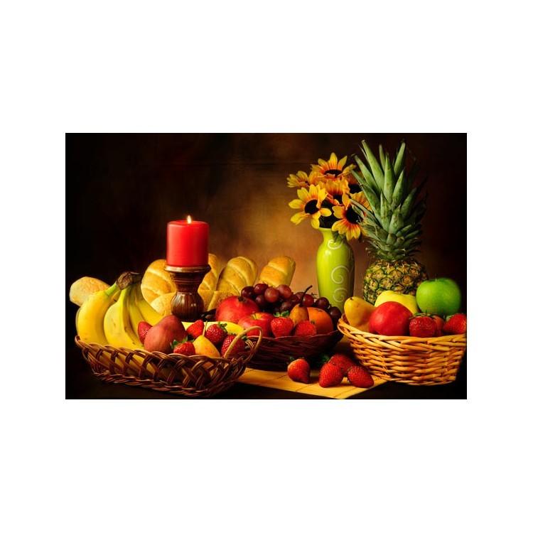Ποικιλία φρούτων, Φαγητό, Ταπετσαρίες Τοίχου