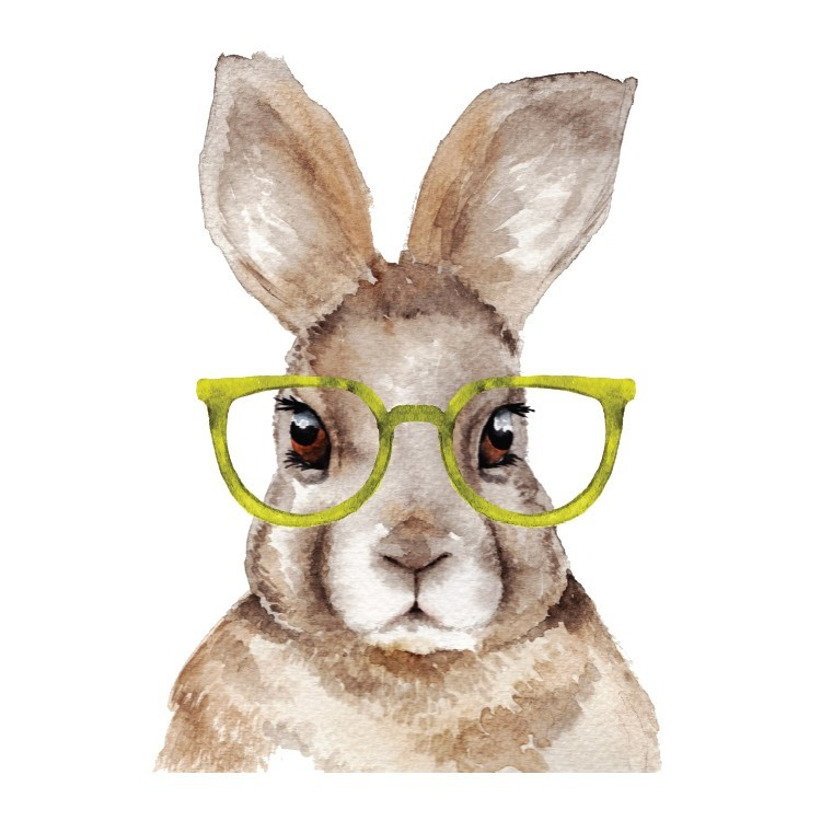 Rabbit, Παιδικά, Αυτοκόλλητα ντουλάπας