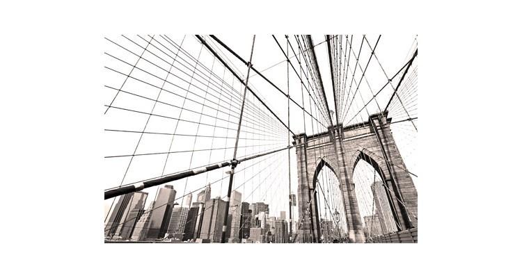 Γέφυρα του Μπρούκλιν, Νέα Υόρκη, Πόλεις - Ταξίδια, Αυτοκόλλητα ντουλάπας