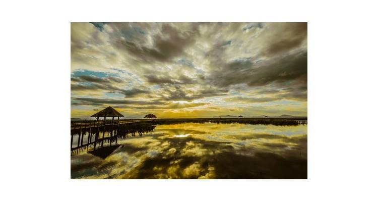 Λίμνη του Λωτού, Ταϊλάνδη, Πόλεις - Ταξίδια, Αυτοκόλλητα ντουλάπας