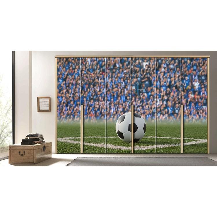 Μπάλα ποδοσφαίρου, Διάφορα, Αυτοκόλλητα ντουλάπας