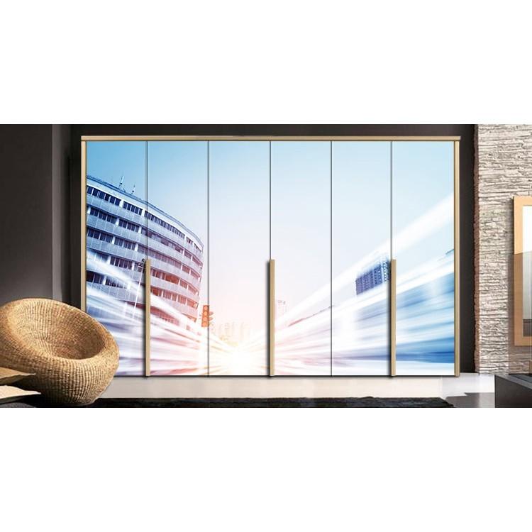 Μοντέρνο κτήριο, Διάφορα, Αυτοκόλλητα ντουλάπας