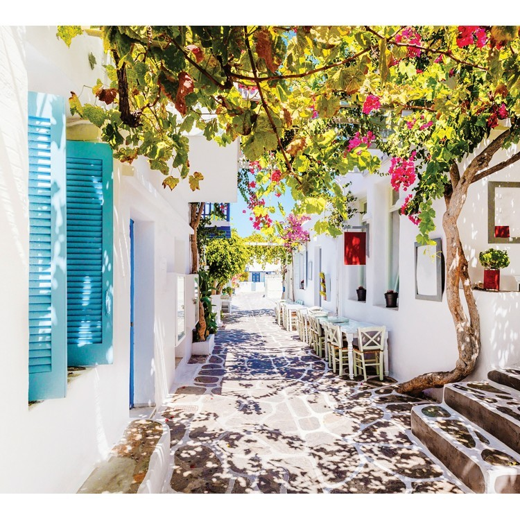 Σοκάκι στην Πάρο, Ελλάδα - Διακοπές, Παραβάν