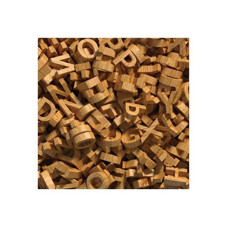 Ξύλινο αλφάβητο, Φόντο, Παραβάν