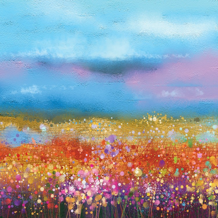 Ουράνιο Τόξο με Λουλούδια, Φύση, Παραβάν