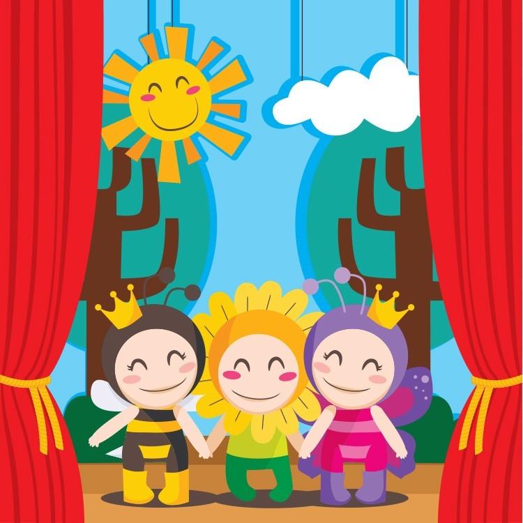 Θέατρο, Παιδικά, Παραβάν