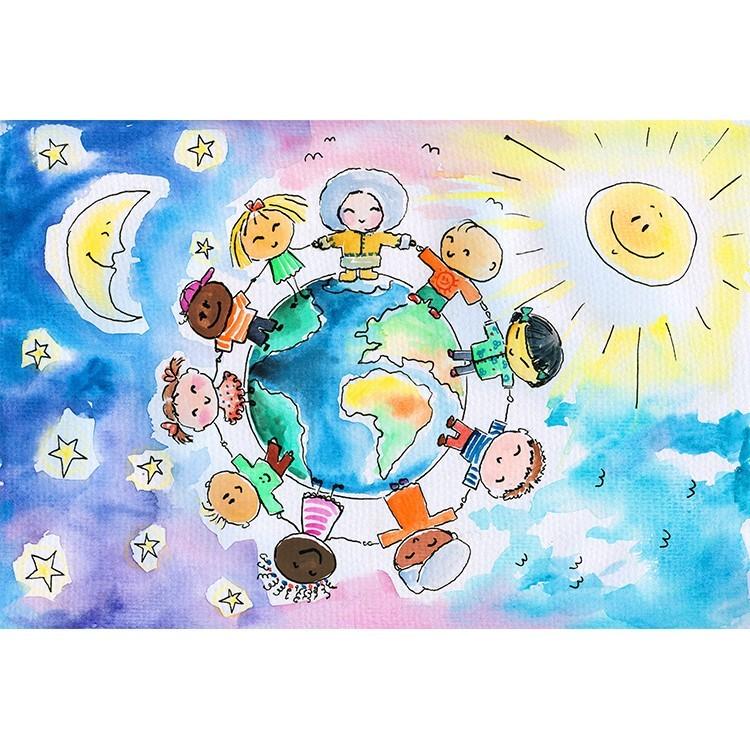 Γύρος του κόσμου, Παιδικά, Παραβάν