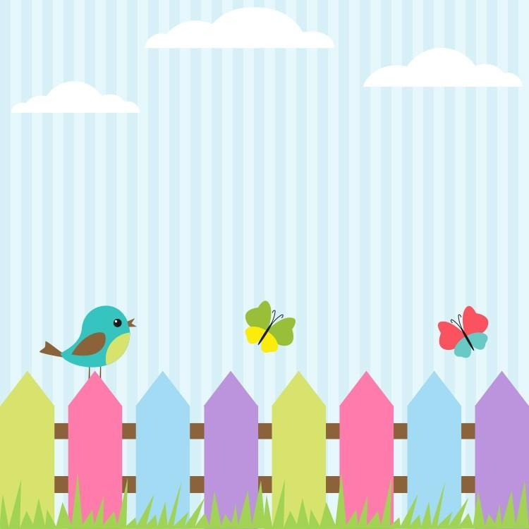 Χρωματιστά Πουλάκια, Παιδικά, Παραβάν