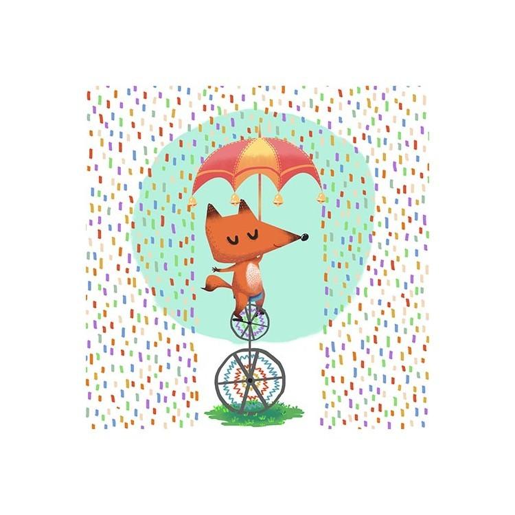Αλεπουδάκι στην Βροχή, Παιδικά, Παραβάν