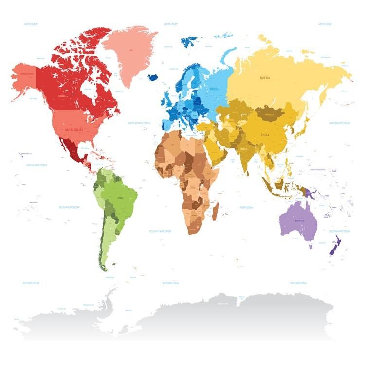 Πολύχρωμος Παγκόσμιος Χάρτης, Πόλεις, Παραβάν