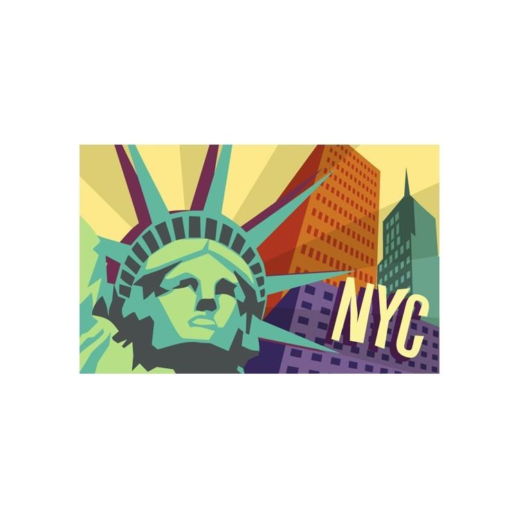 Aφίσα της Νέας Υόρκης, Πόλεις, Παραβάν