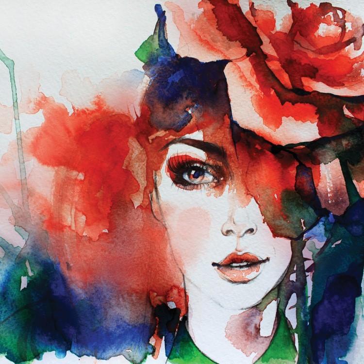 Ζωγραφιά Κοπέλας, Ζωγραφική, Παραβάν