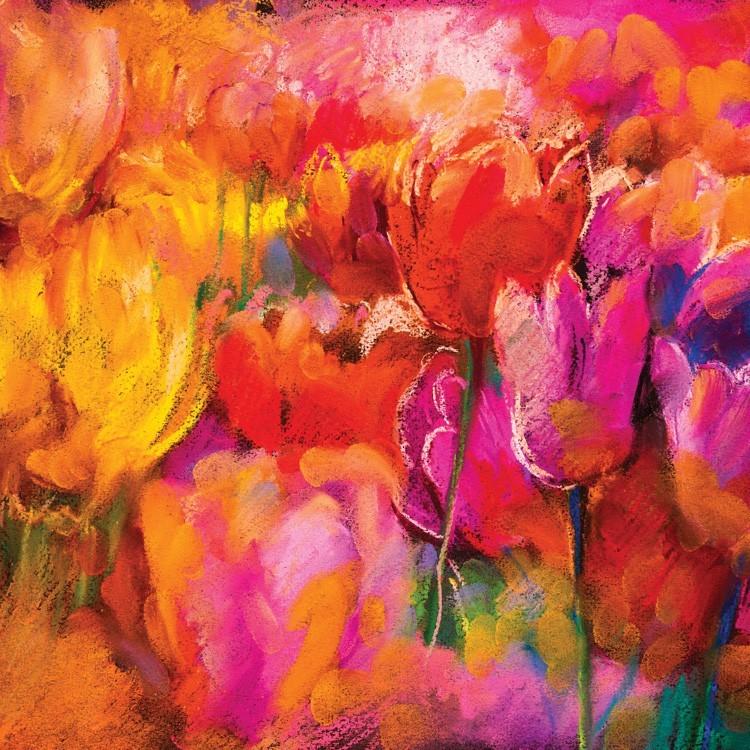 Ζωγραφιά Λουλουδιών, Ζωγραφική, Παραβάν