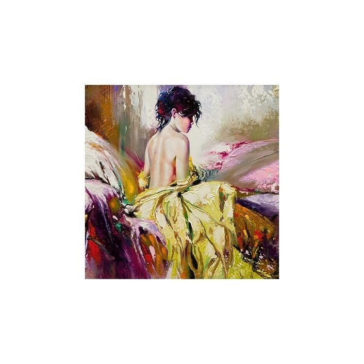Κορίτσι, Ζωγραφική, Παραβάν