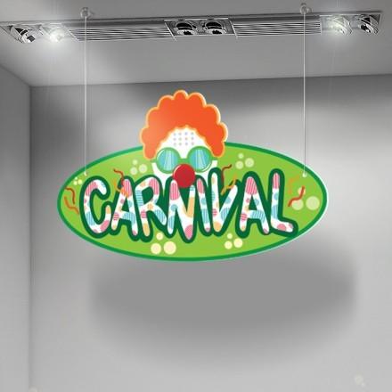 Καρναβάλι Πράσινο φόντο