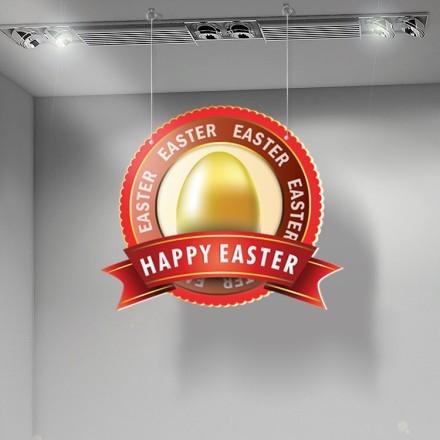 Gold egg Happy Easter