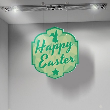 Green Happy Easter