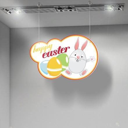 Happy Easter rabbit