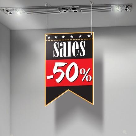 Sales 50% κόκκινο άσπρο μαύρο