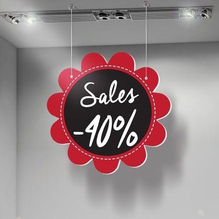 Sales 40%