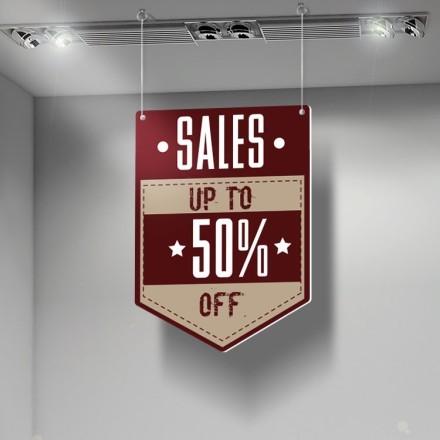Sales up 50%