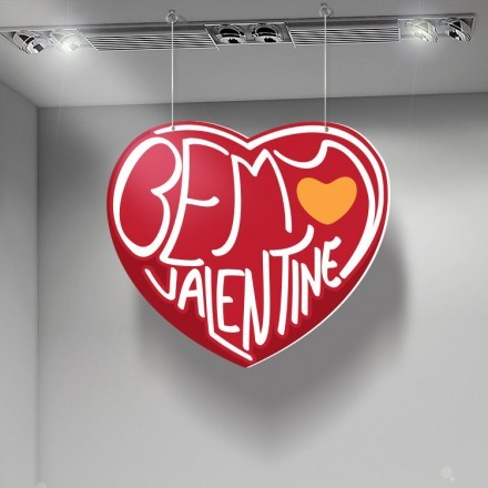 Be my Valentine red heart