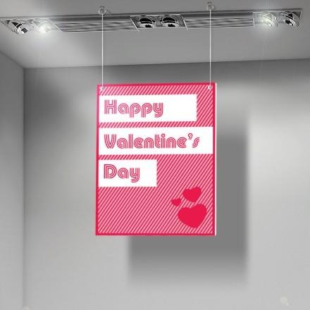 Pink Happy Valentines Day