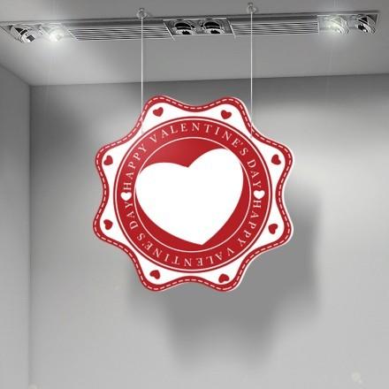 Happy Valentines Day Big Heart