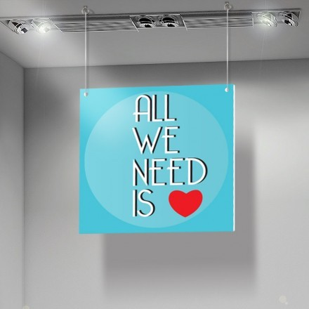 All we need...
