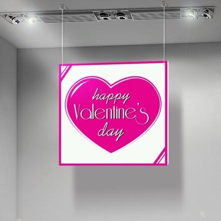 Fuchsia Happy Valentines Day