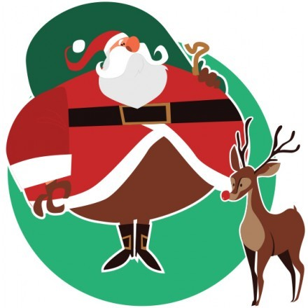 Santa Claus is coming ....