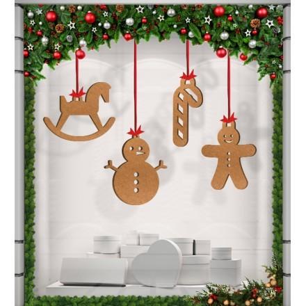 Χριστουγενιάτικα Κλασικά Στολίδια