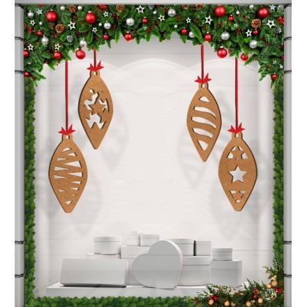 Κλασικά Χριστουγεννιάτικα Στολίδια