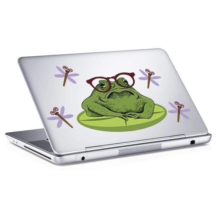Αυτοκόλλητο Laptop Βάτραχος
