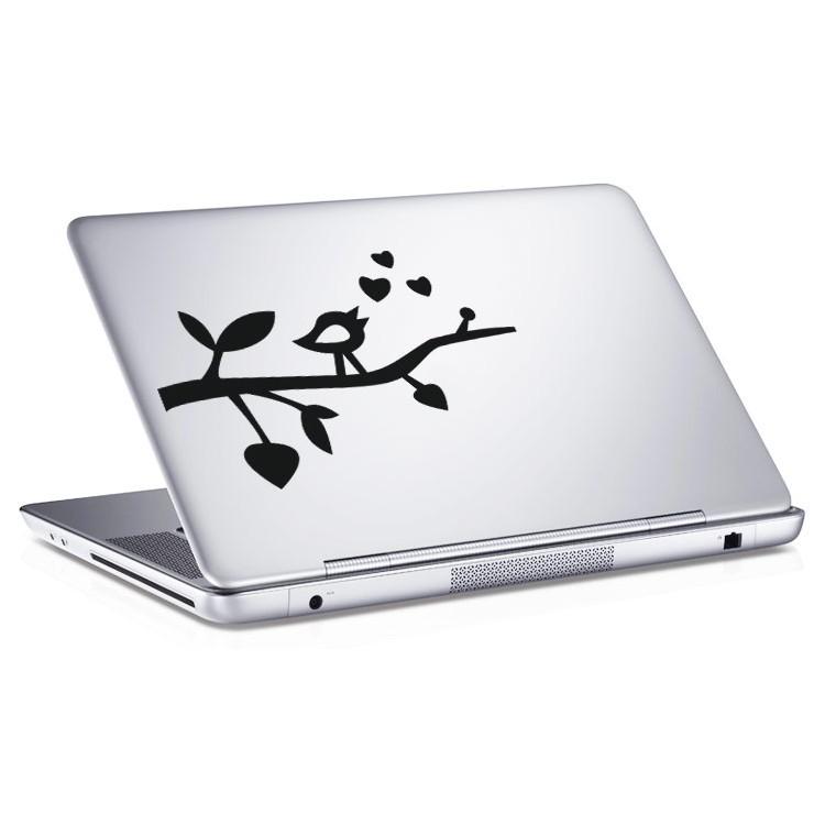 Αυτοκόλλητο Laptop Πουλί της αγάπης