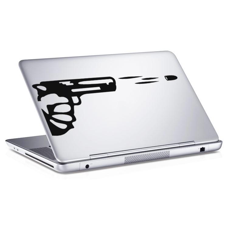Αυτοκόλλητο Laptop Pistol