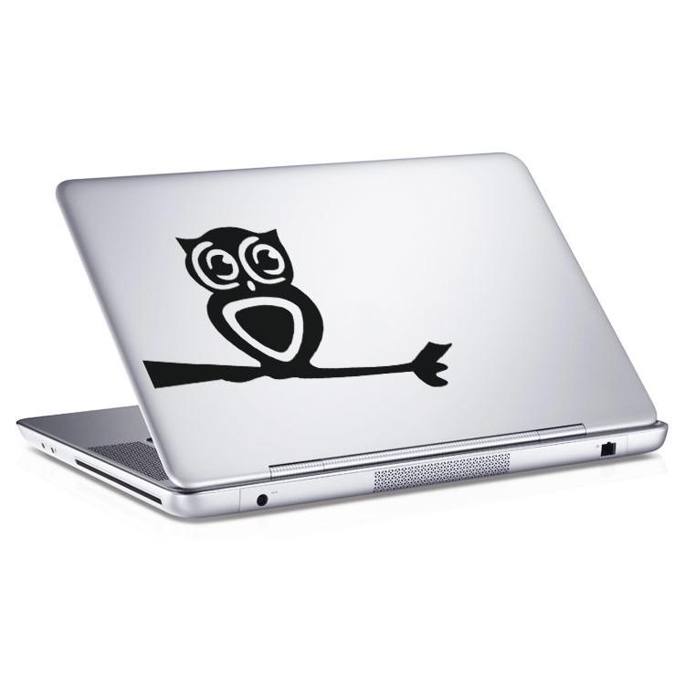 Αυτοκόλλητο Laptop Κουκουβάγια
