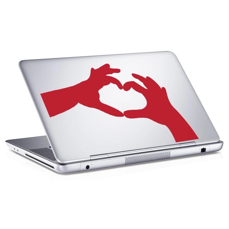 Αυτοκόλλητο Laptop Hands