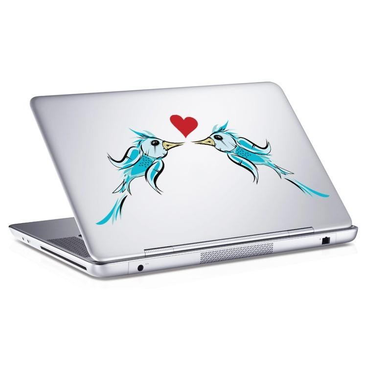 Αυτοκόλλητο Laptop Blue Birds