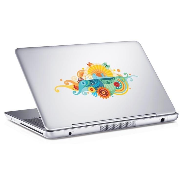 Αυτοκόλλητο Laptop Tribal