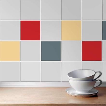 Ivory - Graphite - Medium red (8 τεμάχια)