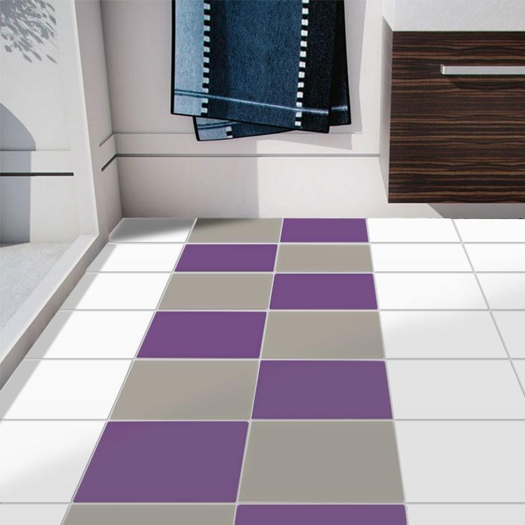 Violet+concrate grey (8 τεμάχια)