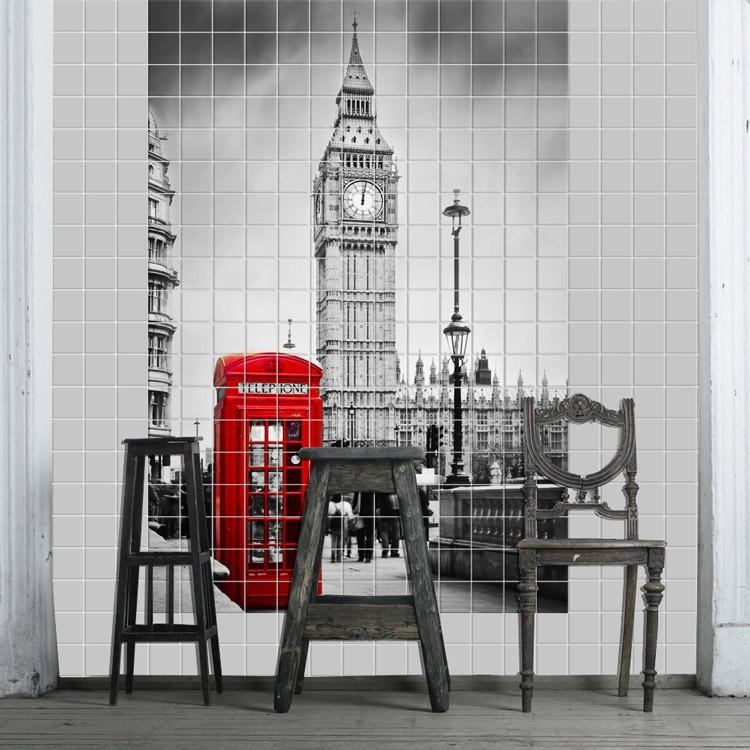 Αυτοκόλλητο Πλακάκι Λονδίνο